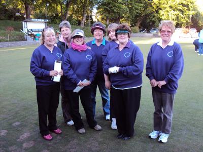 Buxton Park Bowling Club Ladies Team